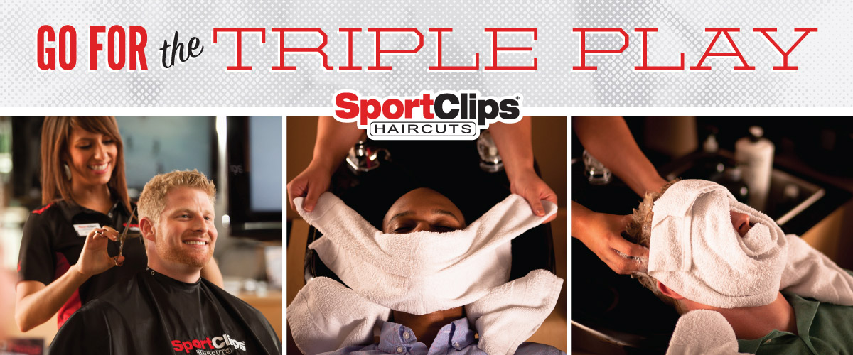 The Sport Clips Haircuts of Winter Haven Triple Play